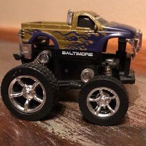 Baltimore Ravens Football monster truck collect